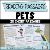 Pet Themed: 15 Short Reading Passages