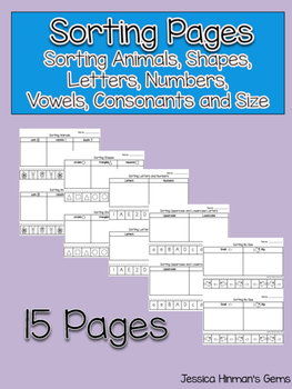 Sorting Pages
