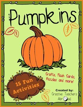 15 Fun Pumpkin Activities