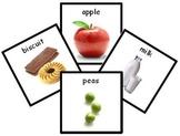 150+ Food Photo PECS PDF - Printable Pecs or Mini Flash Cards ABA