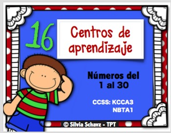 16 Centros de aprendizaje s para practicar escritura de nú