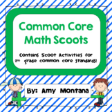 16 Common Core Math Scoot Activities for 2nd Grade!