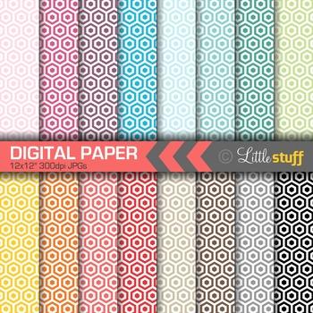 16 Honeycomb Digital Papers, Value Priced Honeycomb Digita