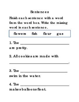 16 Sentences Set 4 Writing Journal Reading Journal Supplem