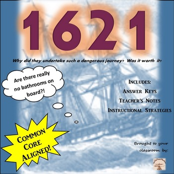 1621- The First Thanksgiving Grades 5-8
