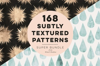 168 Subtly Textured Patterns for Crafts, Collages & Creati