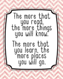 16x20 Dr. Seuss Quote Poster, Classroom Decor, JPG, The Mo