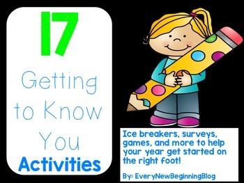 17 Back to School Ice Breaker Activities for Upper Elementary
