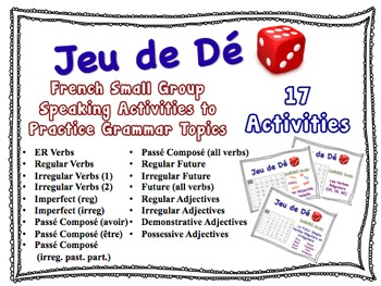 17 French Small Group Speaking Activities to Practice Gram
