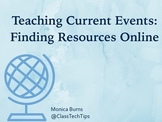 17 Online Resources for Teaching Current Events