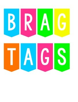 18 Bright and Cheerful Brag Tags