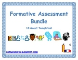 18 Formative Assessment Templates!