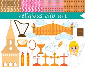 19 PNG Files- Religious ClipArt Clipart- Communion-Digital