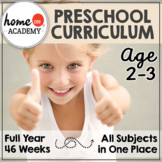 PRESCHOOL CURRICULUM (Age 2-3)