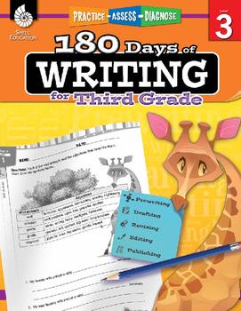 180 Days Of Writing For Third Grade (Digital)