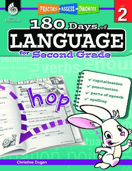180 Days of Language for Second Grade (eBook)