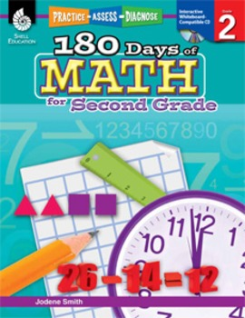 180 Days of Math for Second Grade (eBook)