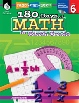 180 Days of Math for Sixth Grade (eBook)