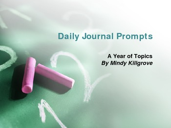 180 days of Journal Prompts: Writing that Everyone Loves!