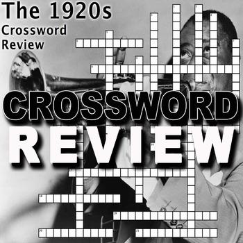 1920s Crossword Puzzle Review