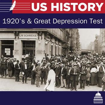1920's and Great Depression Test