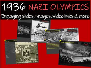 1936 Nazi Olympics - 22 slides of background, images, vide