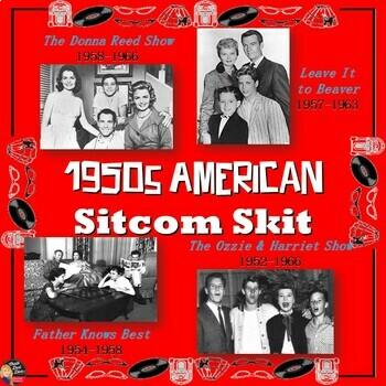 1950's America TV Sitcom Skit (U.S. History)