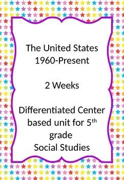 1960-Present 3 Week Comprehensive Unit