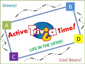 """1970s Trivia Game: """"Jump in the Box"""" - Pre-Animated File."""