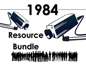 1984 Bundle: Blog Activity, Gallery Walk, & Thematic Chart