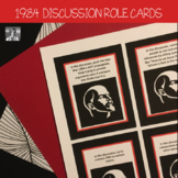 1984 Discussion Role Cards, High School ELA