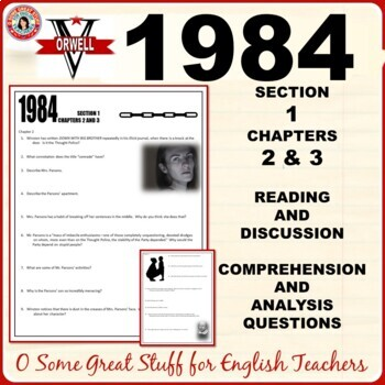 1984 Section 1 Chapters 2 and 3 Questions for Comprehensio