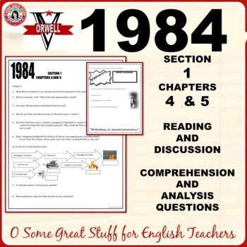 1984 Section 1 Chapters 4 and 5 Activity for Comprehension