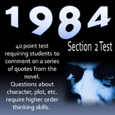 1984 Section 2 Test