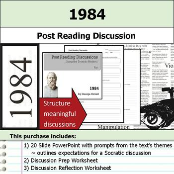 1984 - Socratic Method - Post Reading Discussions