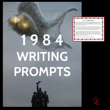 1984 Writing Prompts (In-Class Essay or Final Paper), High