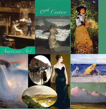 19th Century American Art History ~ FREE POSTER