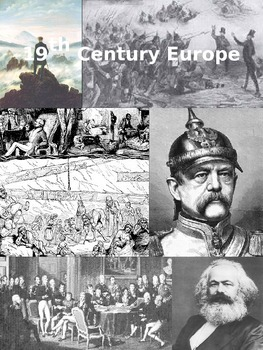 19th Century Europe Part I & II Free Note Packet