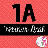 1A Webinar Deal