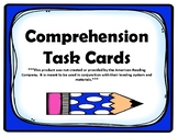 1st Grade Comprehension Task Cards aligned to American Rea