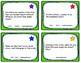 Kindergarten Comprehension Task Cards Alligned to American
