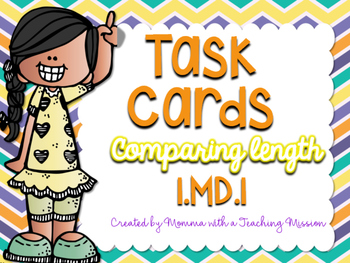 1MD.1 Task Cards Measurement Comparing Length
