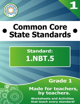 1.NBT.5 First Grade Common Core Bundle - Worksheet, Activi