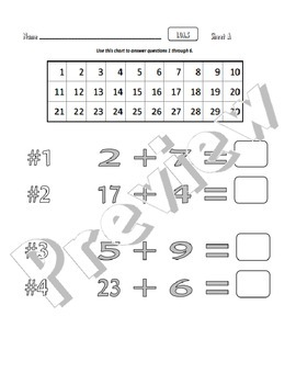 1.OA.5 Relate Counting to Addition and Subtraction