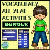 FRY VOCABULARY ALL YEAR ACTIVITIES! 1st 200  BUNDLE