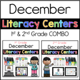 1st 2nd COMBO December Literacy Centers