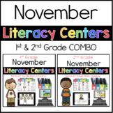 1st 2nd COMBO November Literacy Centers