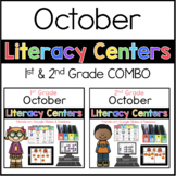 1st 2nd COMBO October Literacy Centers