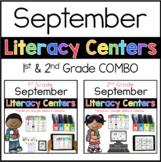1st 2nd COMBO September Literacy Centers