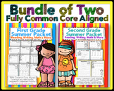 1st & 2nd Grade Common Core: Summer Bundle {Reading, Writi